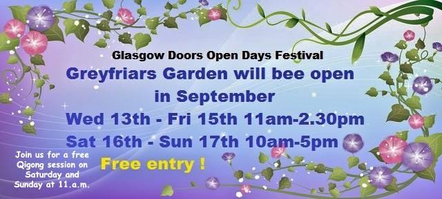 Qigong in a Glasgow Garden